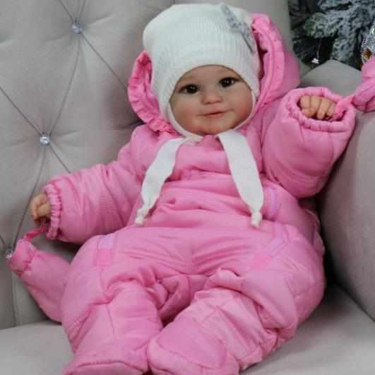 [Special Discount] 20'' Little Kailani Cute Reborn Baby Doll -Realistic And Lifelike