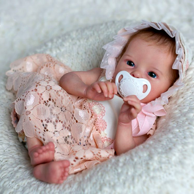 "[NEW] 18"" Robey Realistic Reborn Lifelike Baby Girl Doll"
