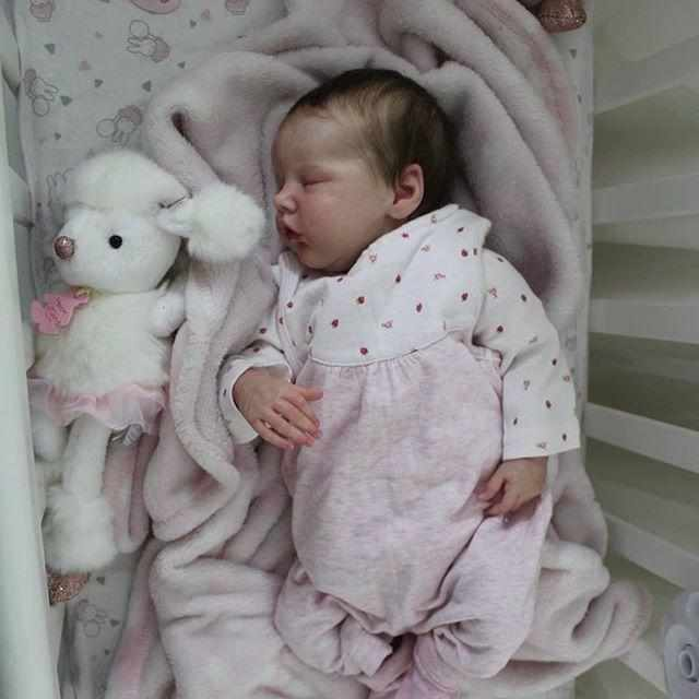 "[MID-YEAR OFFER] 17"" Sanne Realistic Truly Baby Girl Doll, Cute Gift"