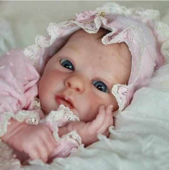 "Realistic 21"" Adelaide New Silicone Reborn Baby Doll"