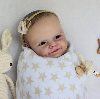 21''Real Life Larissa Reborn Baby Doll Girl Toy