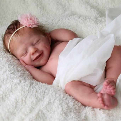 "Realistic 20"" Ava Truly Lovely Baby Girl Doll"