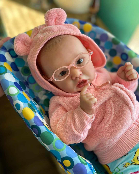 22'' Realistic Sweet Reborn Baby Girl Doll Anouk