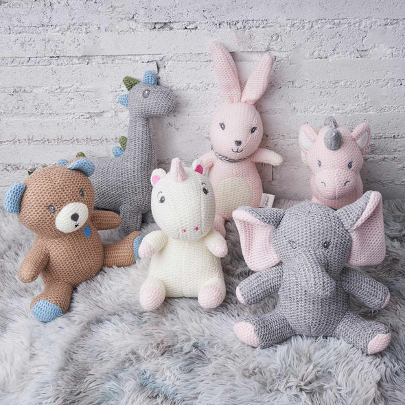 [New] Calming Toy Knitted Doll-Best companionship for Baby-Bear