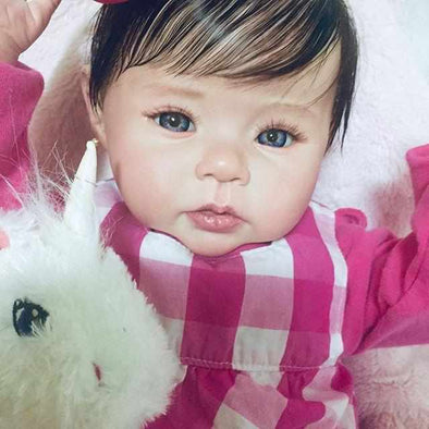 Realistic 20'' Little Cute Zola Reborn Baby Doll Girl- So Truly Lifelike Baby
