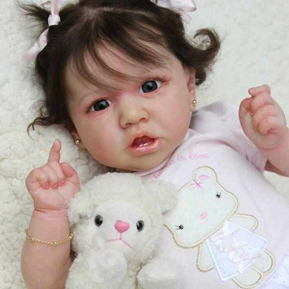 22'' Hilary Realistic Reborn Baby Girl