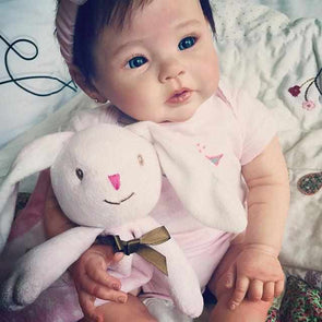 Realistic 20'' Little Cute Zenia Reborn Baby Doll Girl- So Truly Lifelike Baby