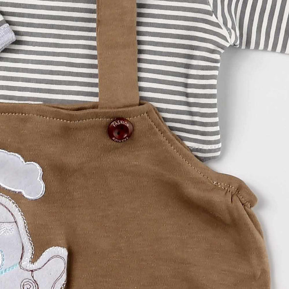 "Reborn Dolls Baby Clothes Brown Outfits for 20""- 22"" Reborn Doll Girl Baby Clothing sets"