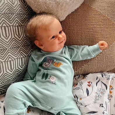 20'' Little Jaeden Cute Reborn Baby Doll -Realistic And Lifelike
