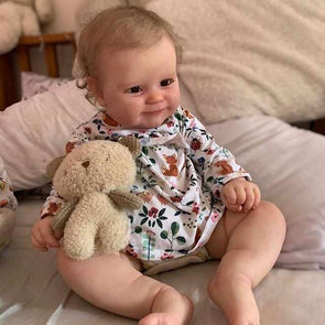 20'' Little Bobby Cute Reborn Baby Doll -Realistic And Lifelike
