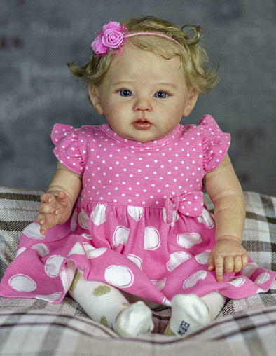 20'' Heather Realistic Reborn Baby Girl