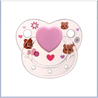 [Special Discount] bear transparent magnetic pacifier