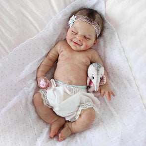 "[Special Discount] 20"" Amiyah Truly Reborn Baby Girl Doll"