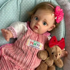 [2rd 20% OFF] 12 inch Bernice Truly Reborn Baby Doll Girl