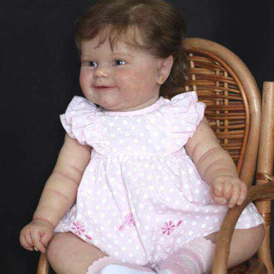reborndollsshop Series Liam 22'' Little Beulah Cute Reborn Baby Doll -Cherish With Realistic and So Truly Lifelike