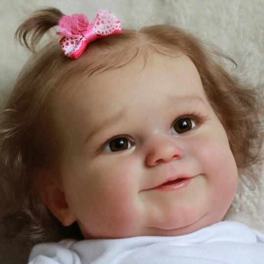 reborndollsshop Series Maddie 22'' Little Amari Cute Reborn Baby Doll -Realistic And Lifelike