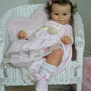 reborndollsshop Series Maddie 22'' Little Kevin  Cute Reborn Baby Doll -Realistic And Cute