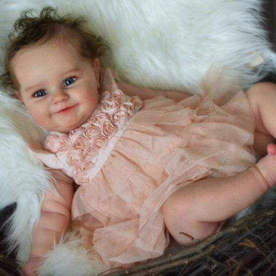 reborndollsshop Series Maddie 22'' Little Prudence Cute Reborn Baby Doll -Realistic And Cute