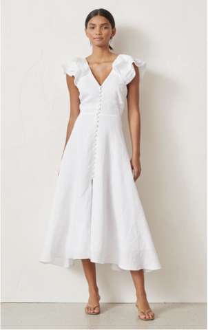 Bec & Bridge - La Fontelina Dress in White