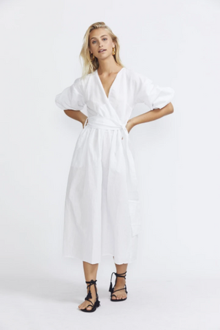 ÉSS THE LABEL - Crystal Wrap Dress