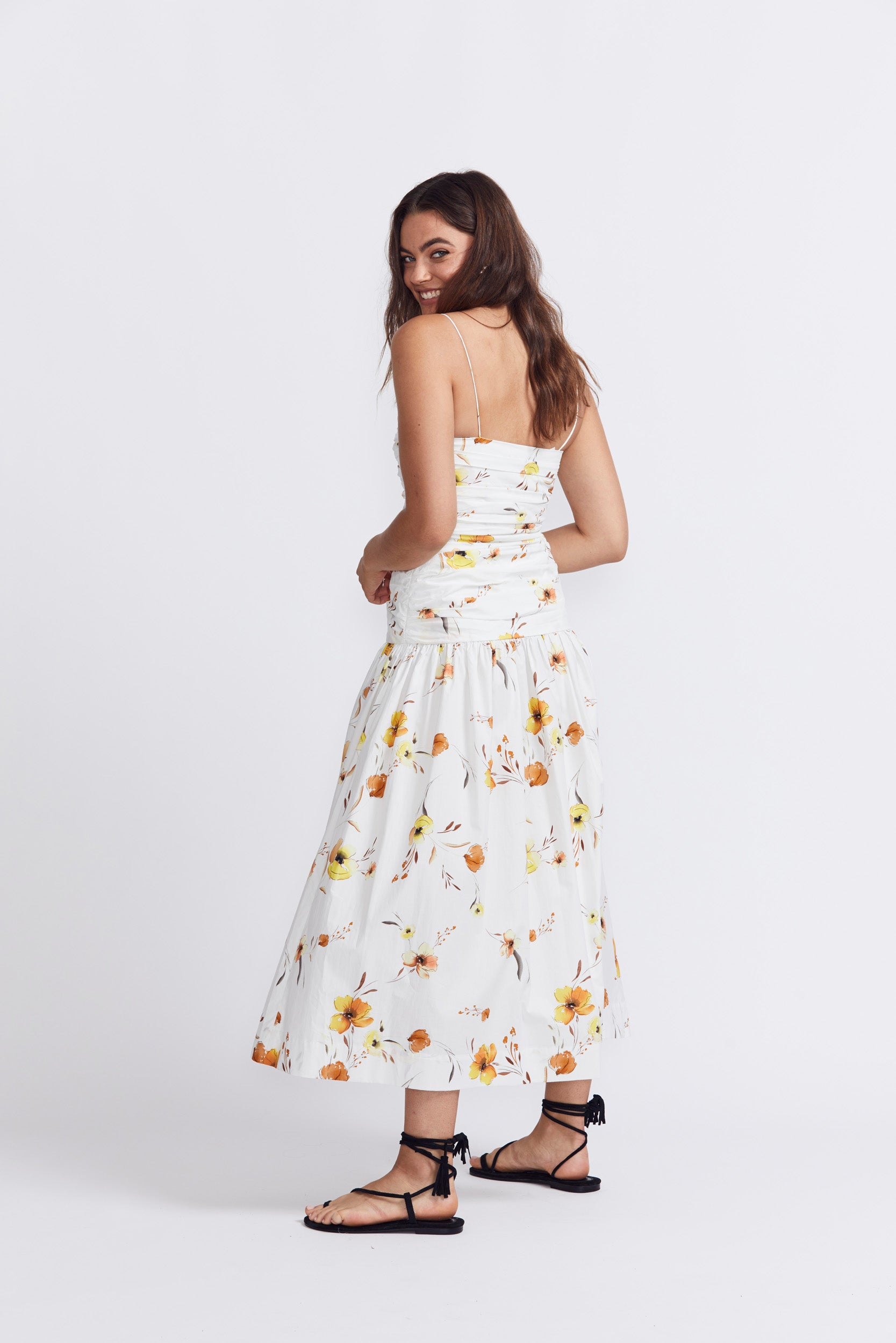 Bec & Bridge Colette Midi Dress - Print