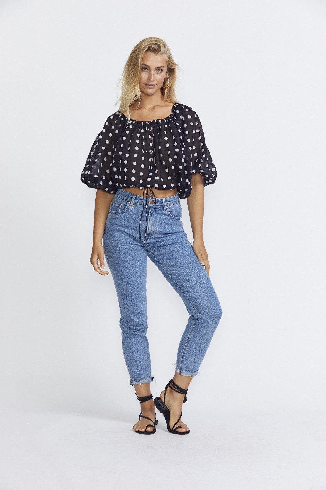 ÉSS THE LABEL LuLu Blouse - Polka Dot