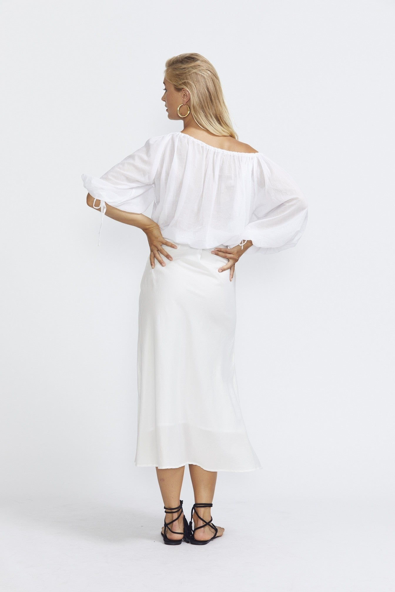 ÉSS THE LABEL LuLu Blouse - White