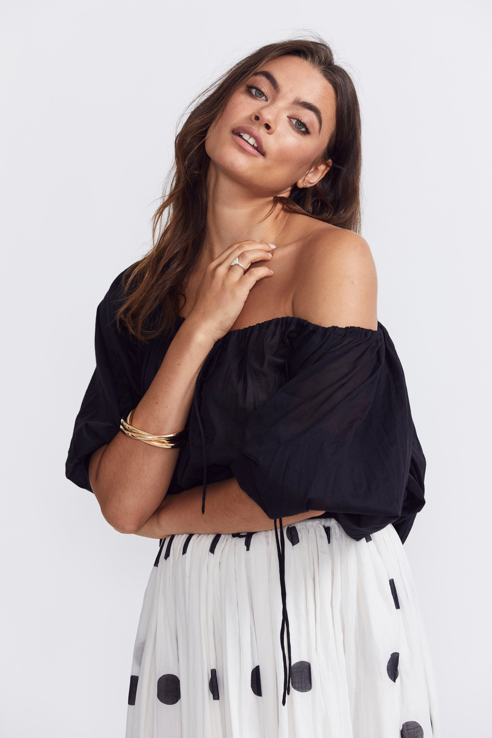 ÉSS THE LABEL LuLu Blouse - Black
