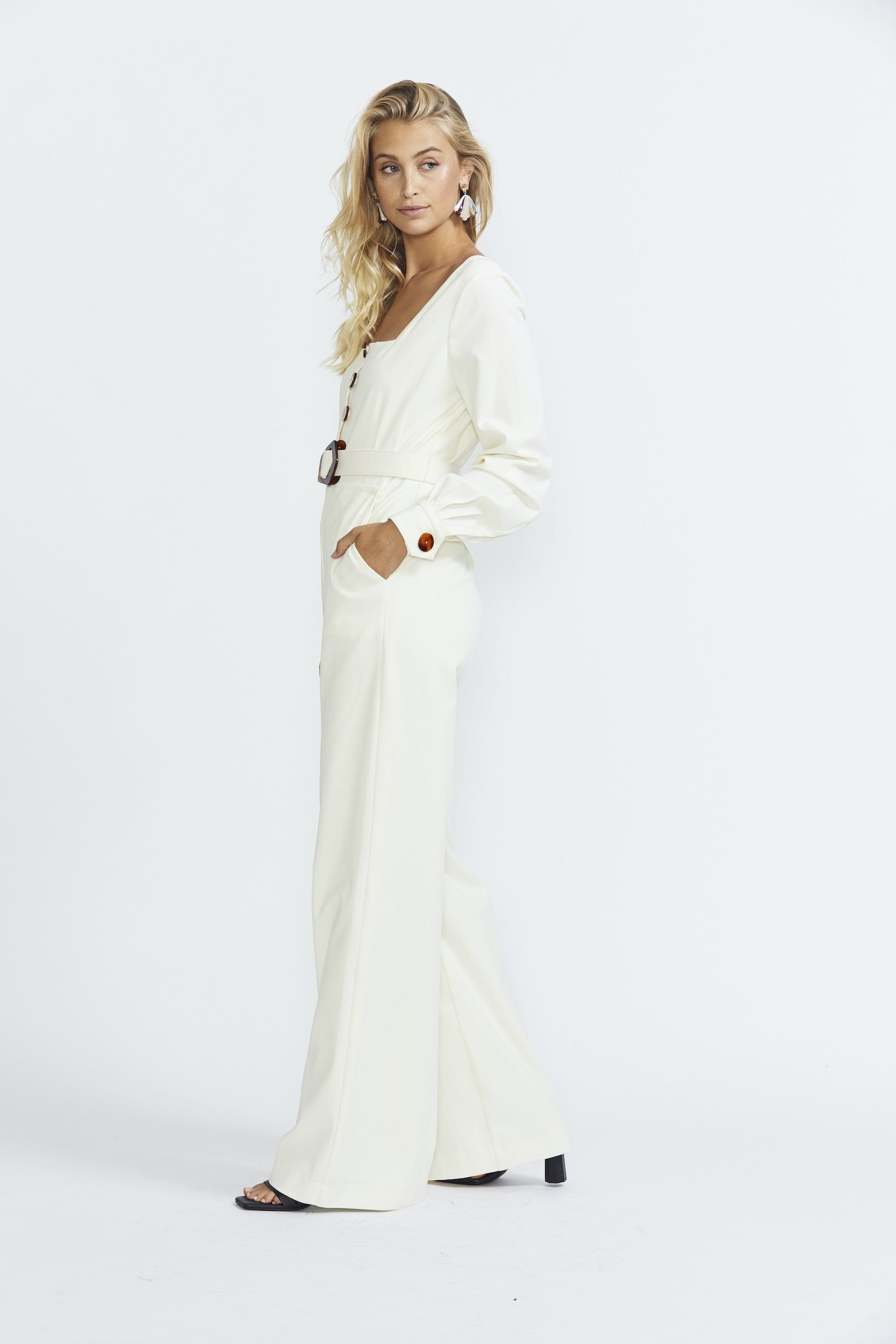 Nicholas The Label Jumpsuit - Winter White