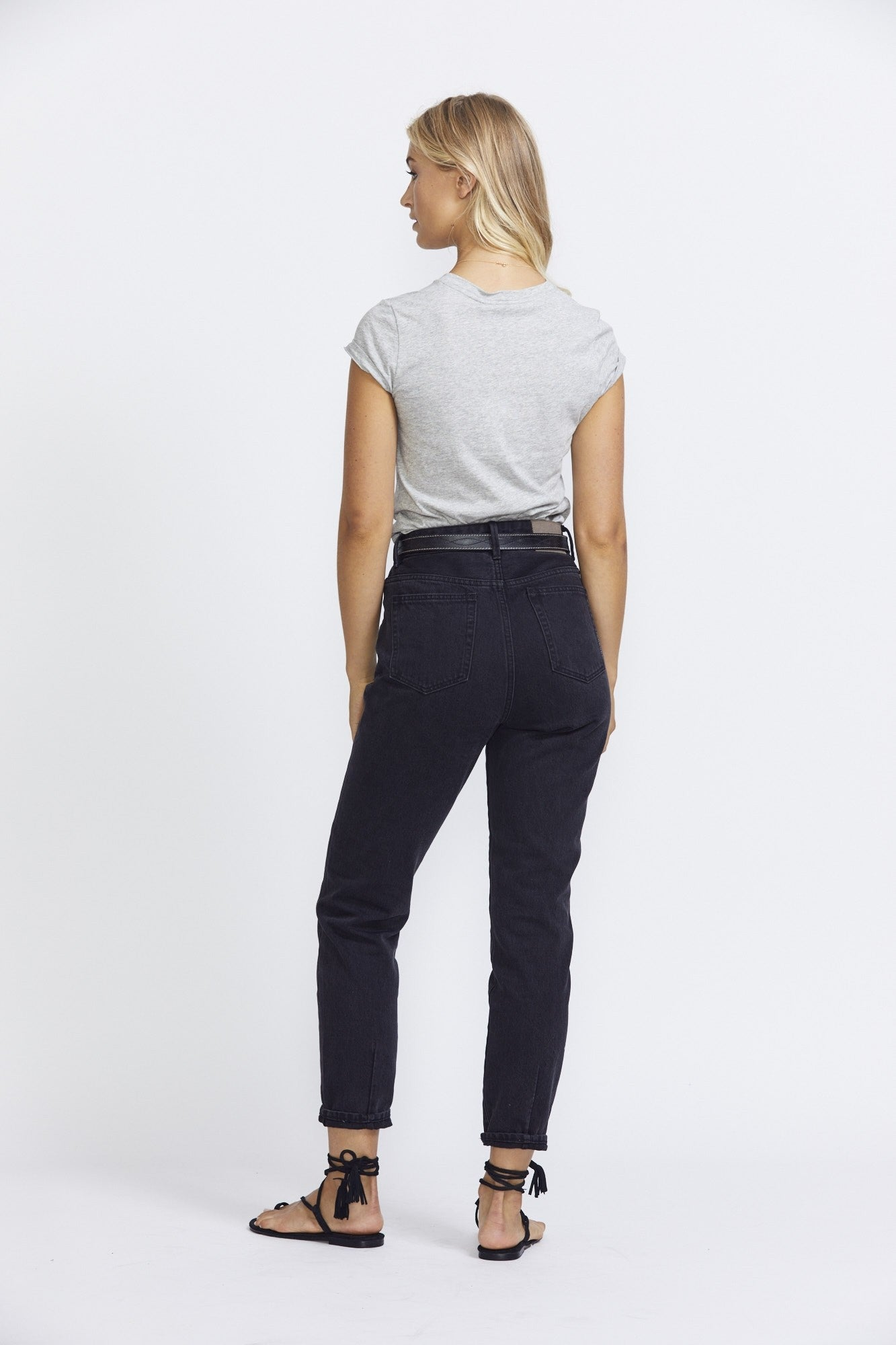 Neuw Denim Slim Tee - Grey Marle