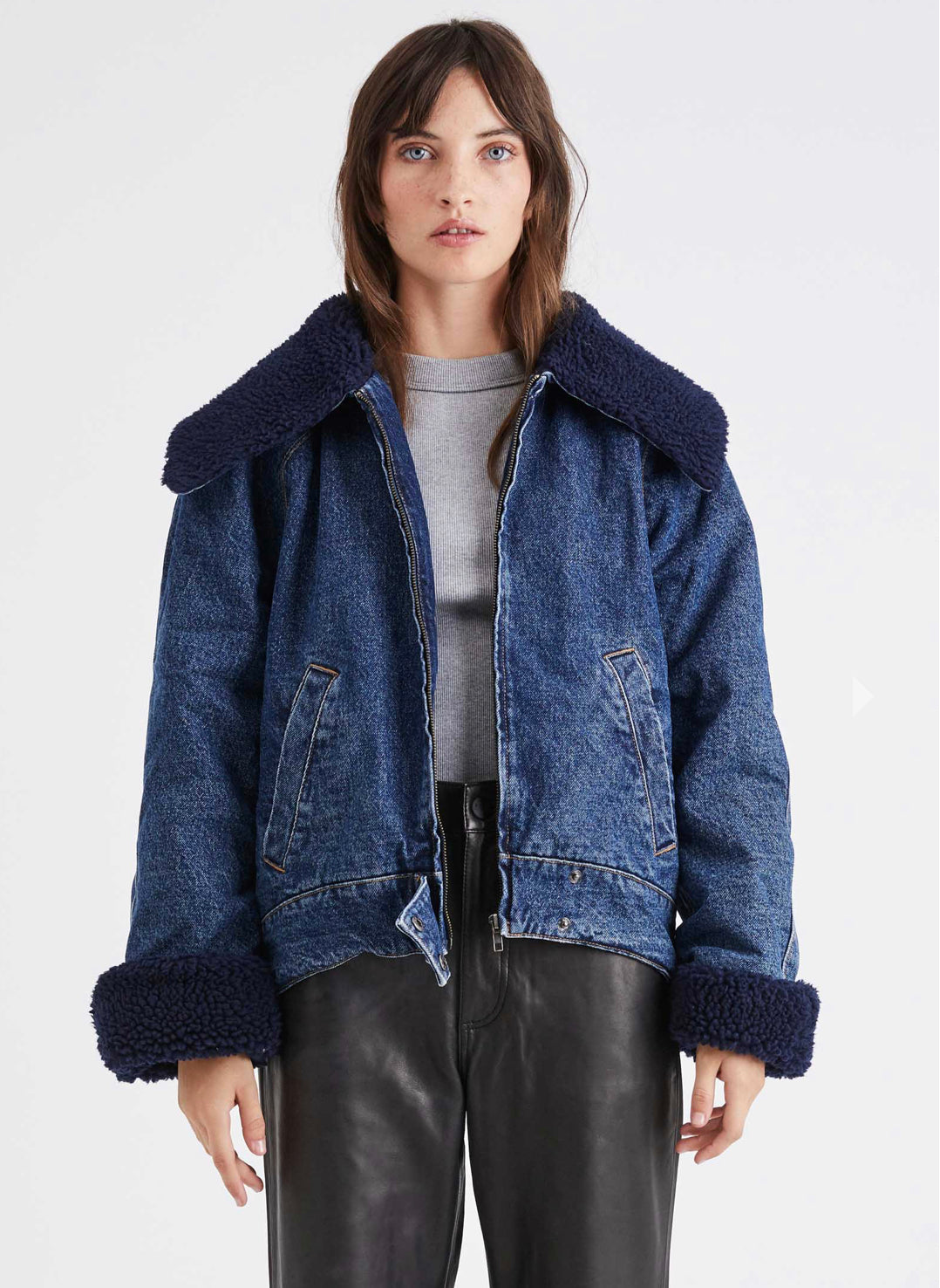 Neuw Denim Flight Jacket Zero Rich
