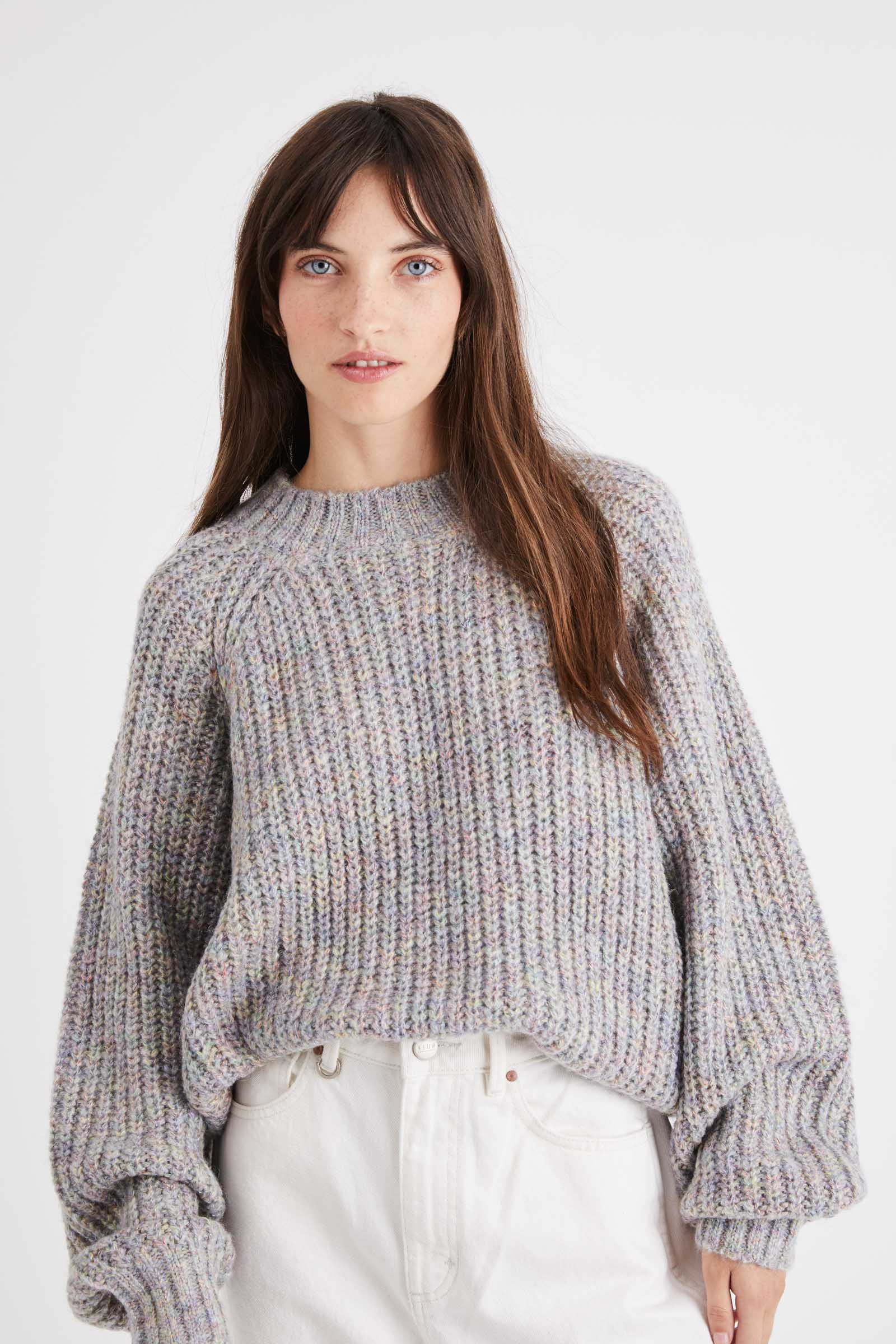 Neuw Denim Spaced Knit - Rainbow