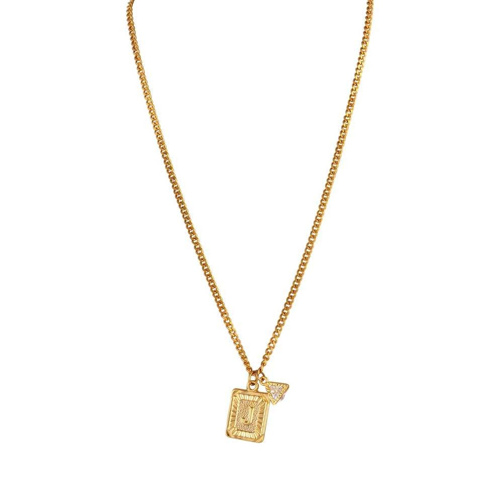 Mayol Jewelry The Monogram Pendant- LETTER H