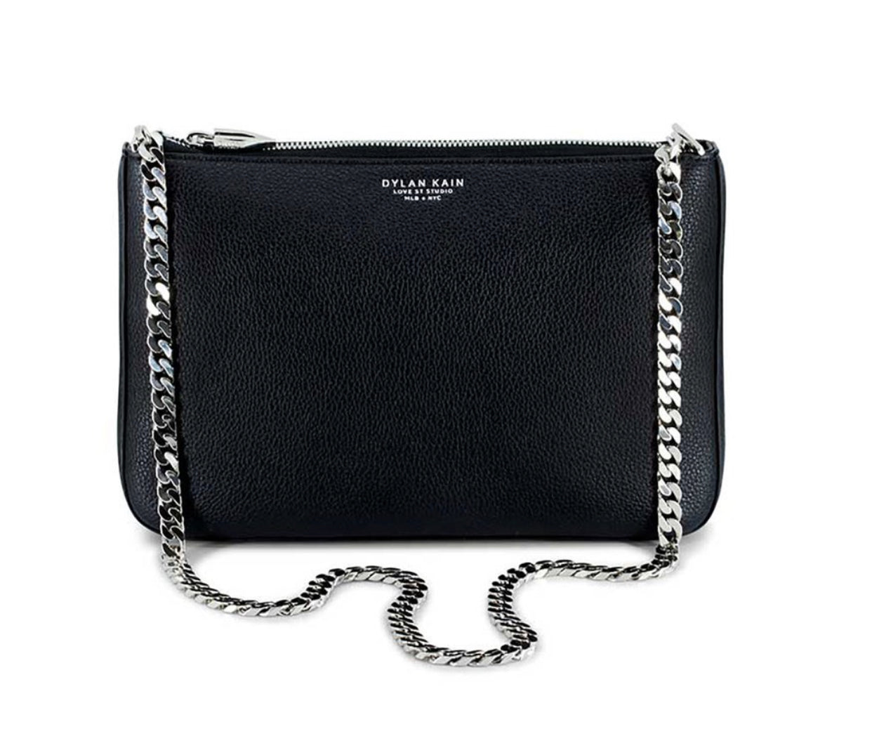 Dylan Kain The Chloe Shoulder Bag - Silver