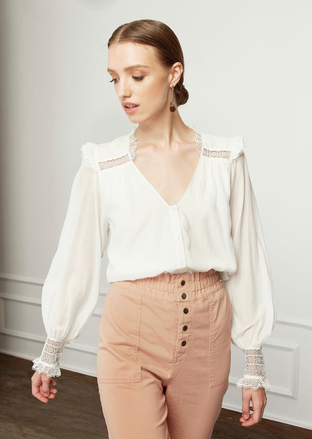 Magali Pascal Henriette Shirt - Off White