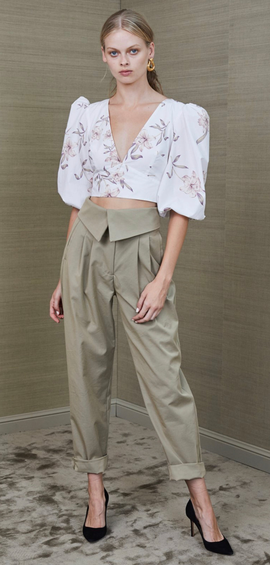 Bec & Bridge Otto Envelope Pant - Khaki