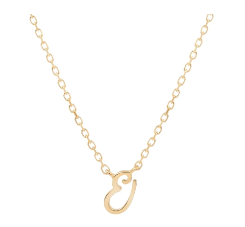 By Charlotte 14k Gold Love Necklace- E