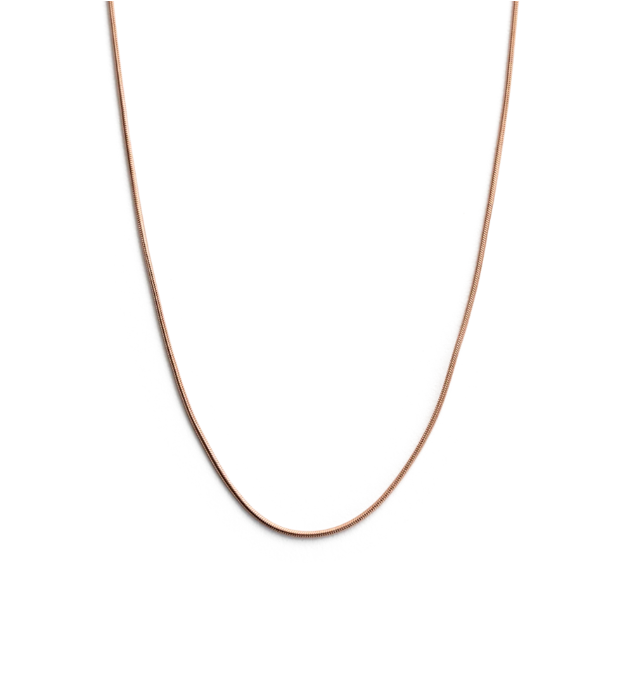 Kirstin Ash Snake Chain - Rose Gold