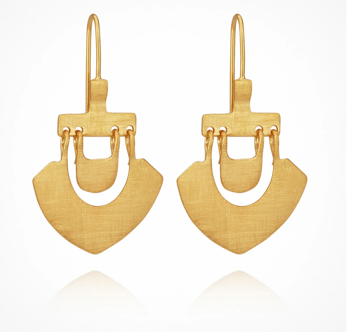 TEMPLE OF THE SUN LILU EARRING - GOLD