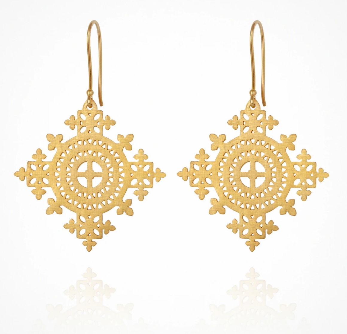 TEMPLE OF THE SUN SAMI EARRING - GOLD