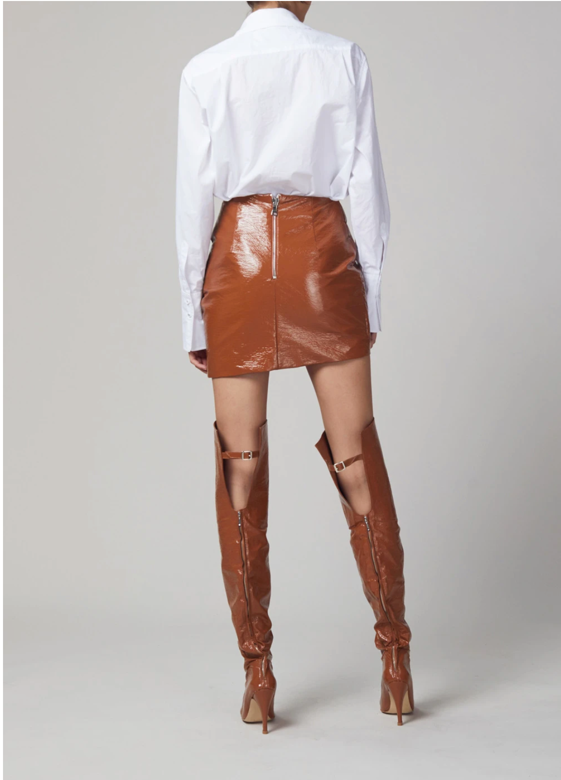 Bec & Bridge Babette Mini Skirt - Toffee