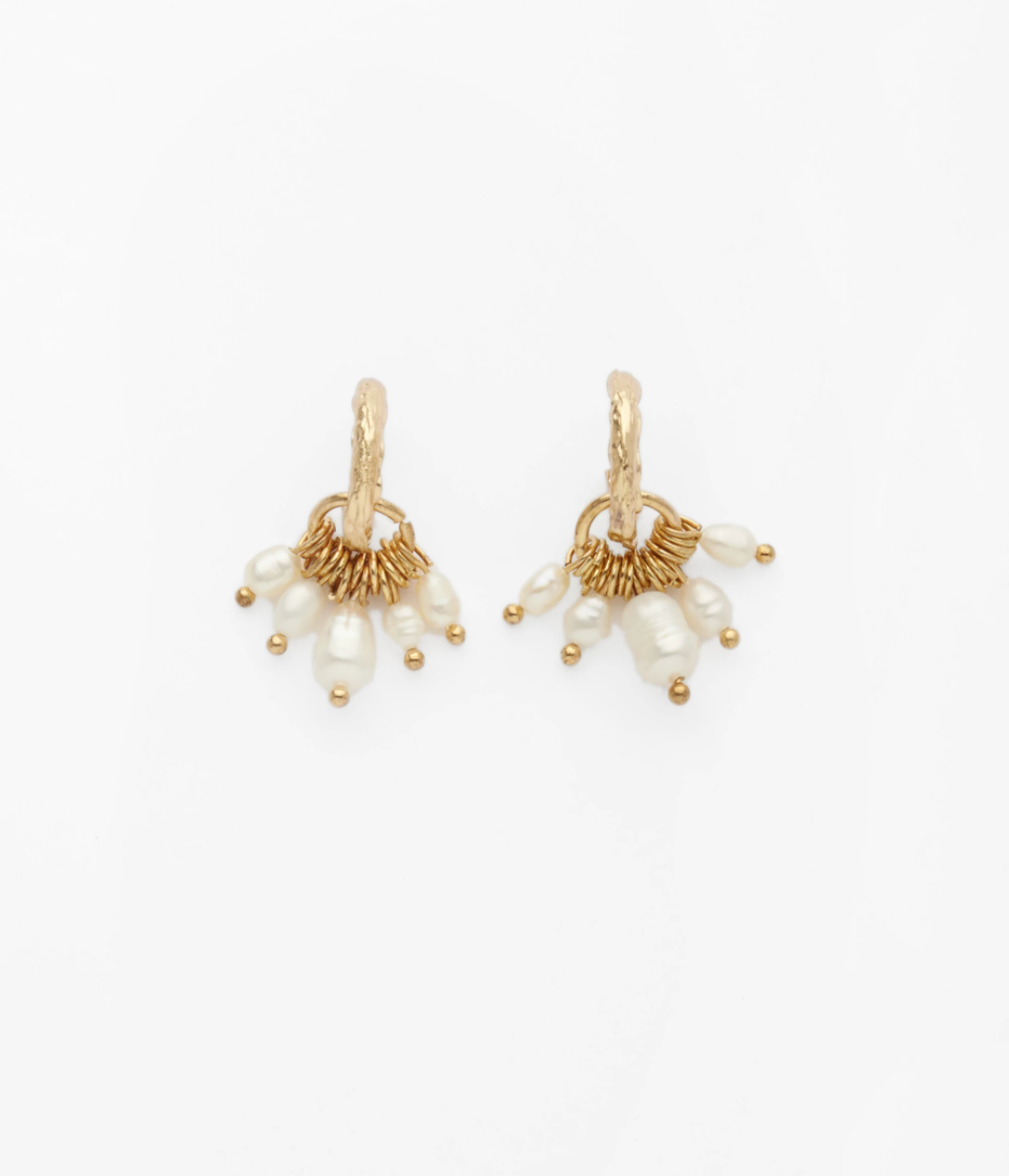 RELIQUIA JANUARY EARRINGS - GOLD