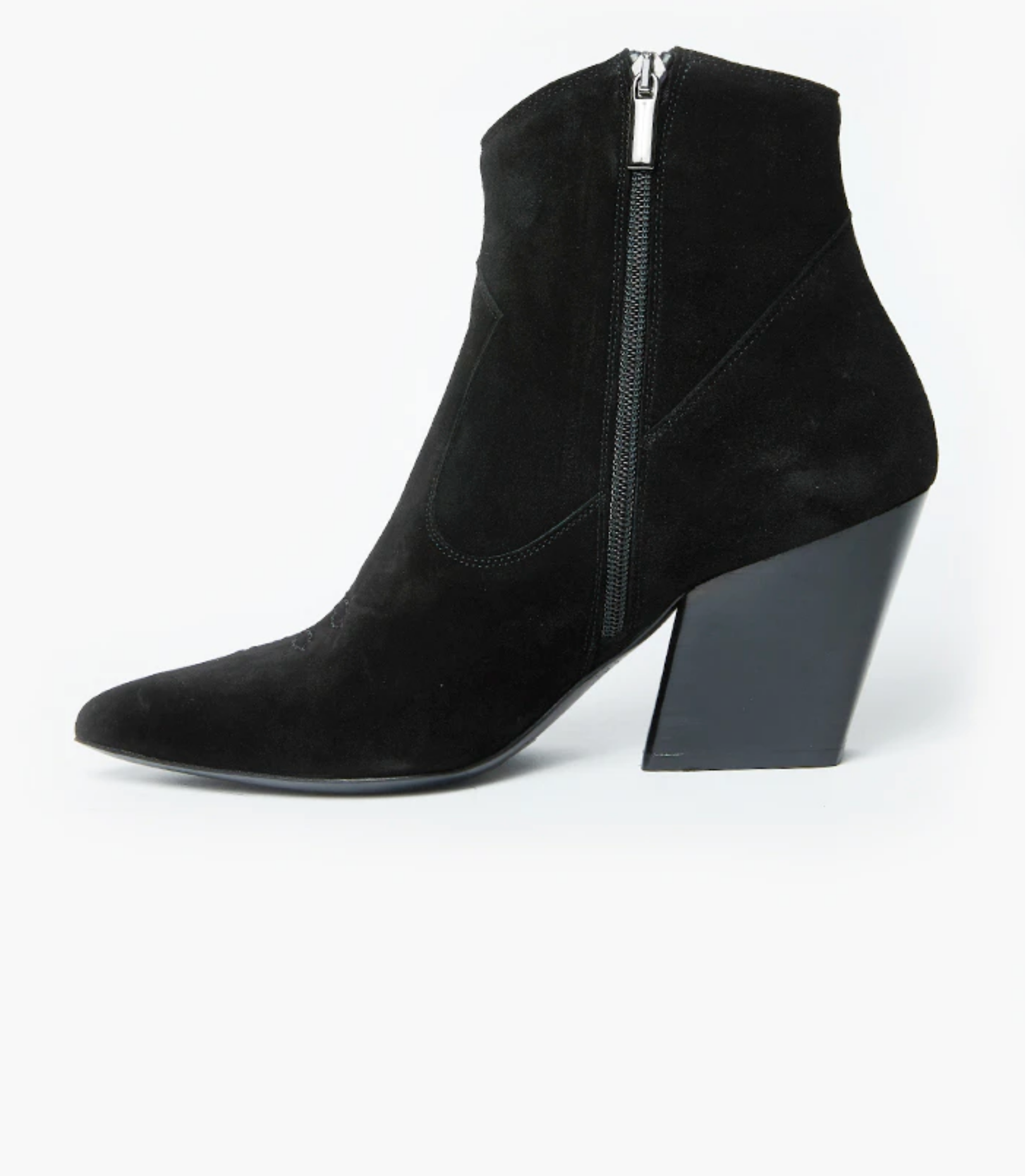 Department Of Finery Georgia - Black Suede