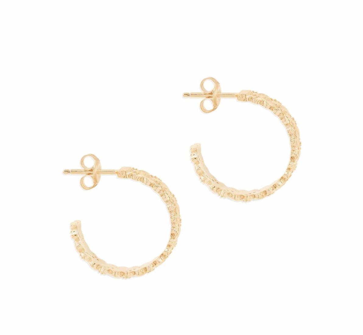 By Charlotte Dream Weaver Hoops - Gold