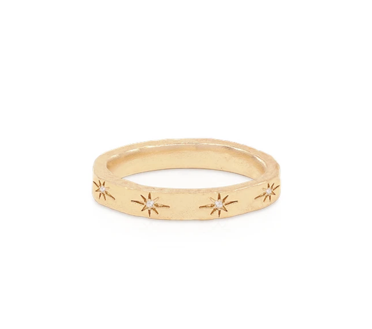 By Charlotte Gold Stardust Ring - Gold