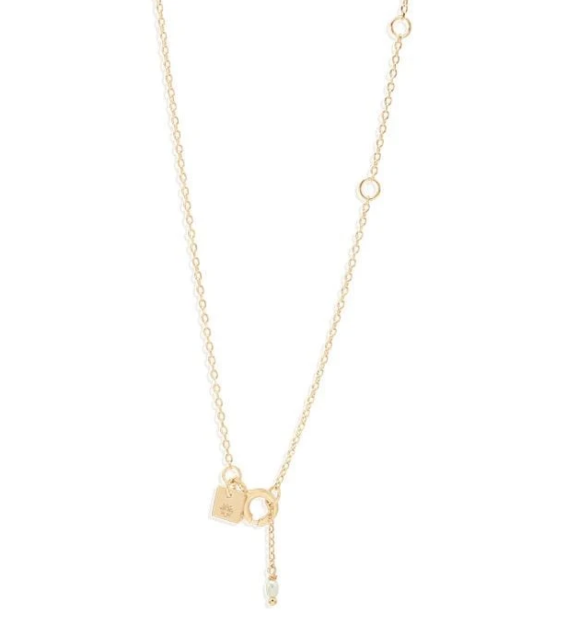 By Charlotte Gold Dream Weaver Necklace - Gold