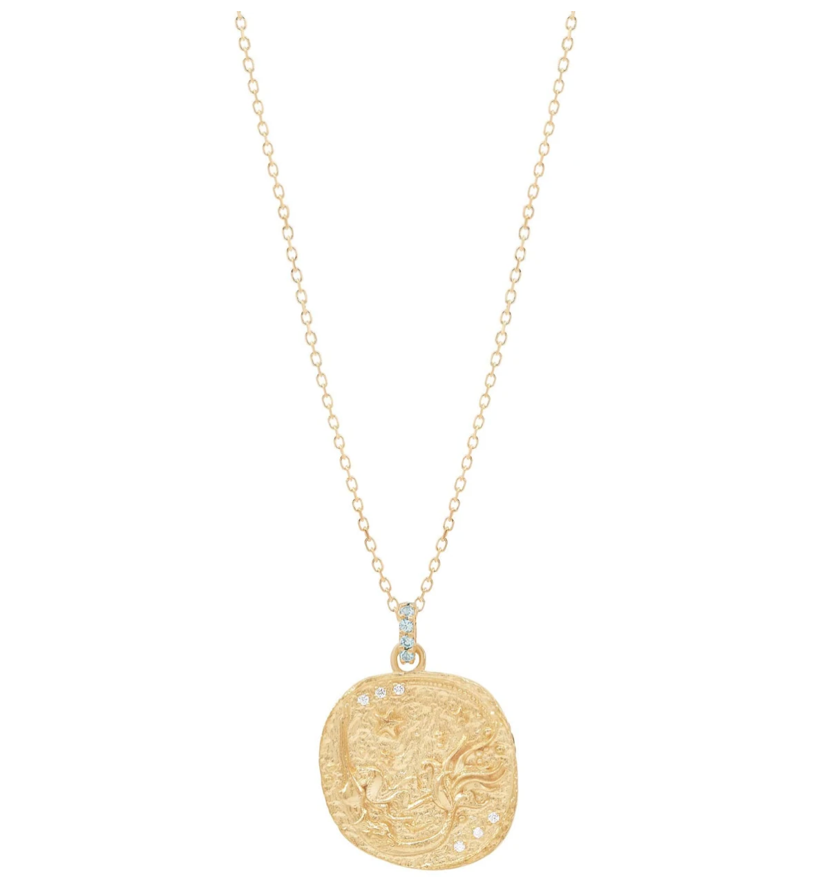 By Charlotte Gold Goddess of Water Necklace - Gold