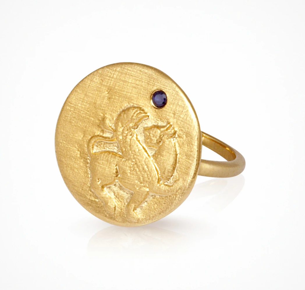 Temple Of The Sun Arielle Ring - Gold