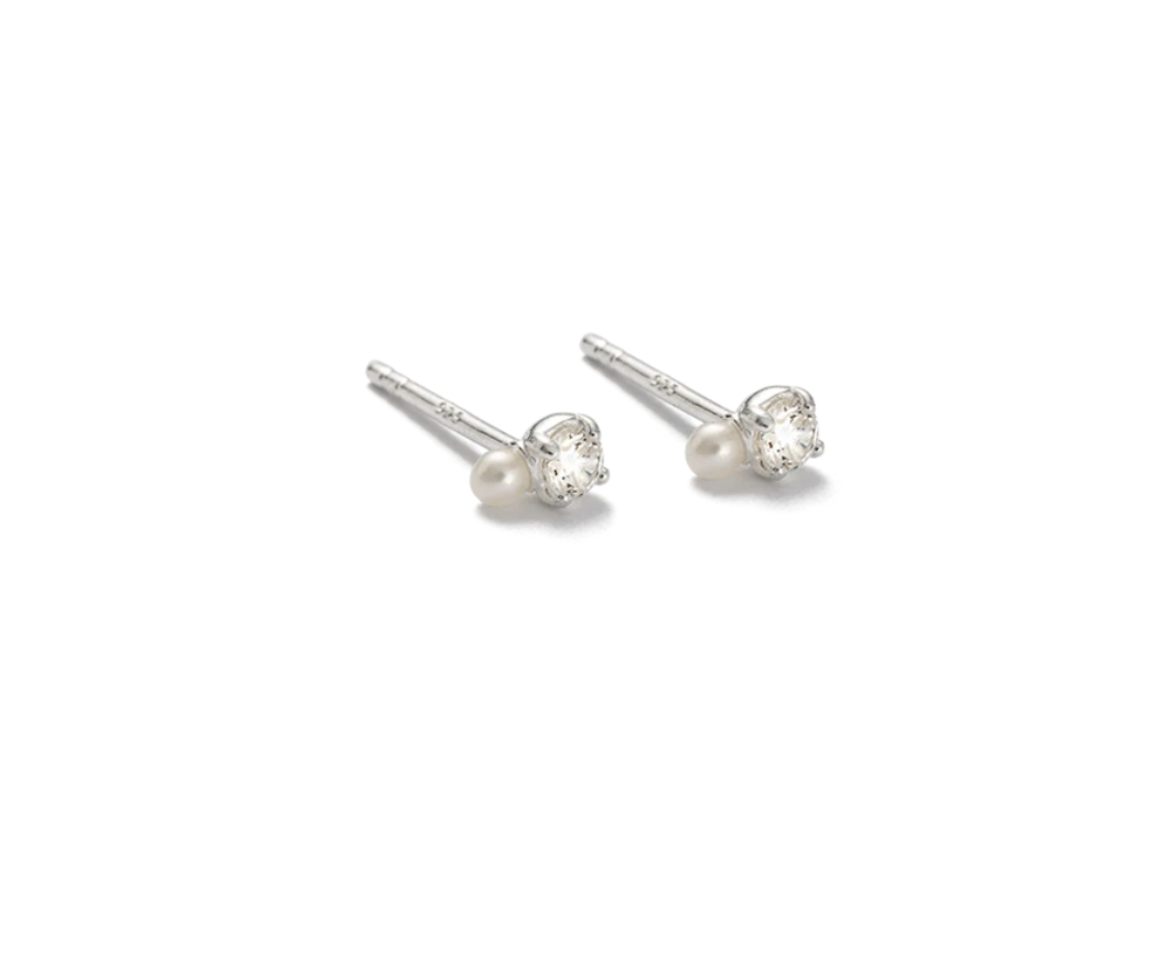 Kirstin Ash First Light Studs - Sterling Silver