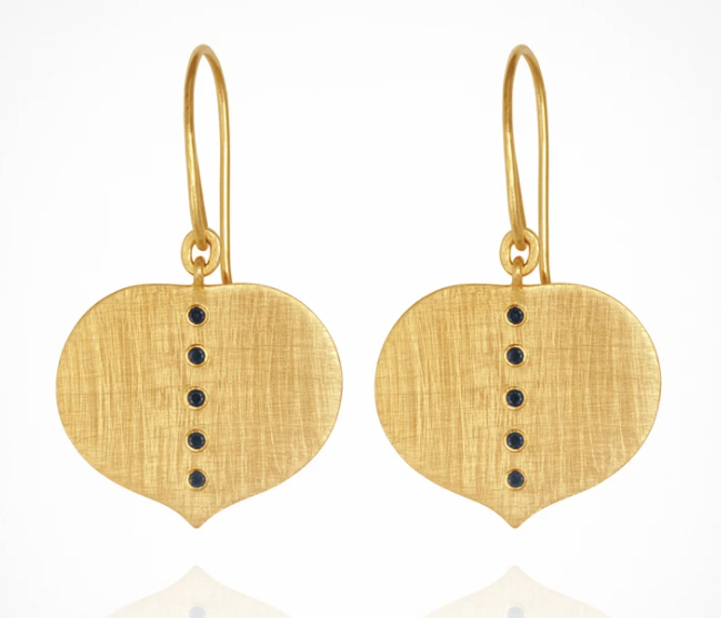 Temple Of The Sun Adella Earrings - Gold